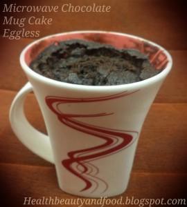 Eggless-microwave-chocolate-mug-cake