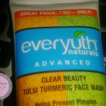 Everyuth Naturals Advanced Clear Beauty Tulsi Turmeric Face Wash review