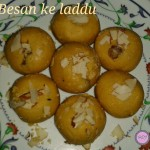 Besan ke Laddu recipe   How to make Besan ka Laddu