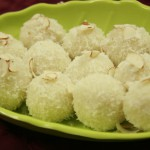 Instant Coconut Laddoo (with milk powder)