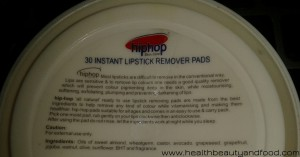 hiphop-skin-care-instant-lipstick-remover-pads-ingredients-and-usage-instructions