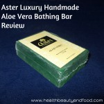 Aster Luxury Handmade Aloe Vera Soap Review