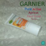 Garnier Pure Active Apricot Scrub Review