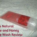 Lass Naturals Rose and Honey Face Wash Review