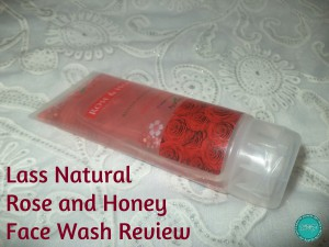lass-naturals-rose-and-honey-face-wash-review