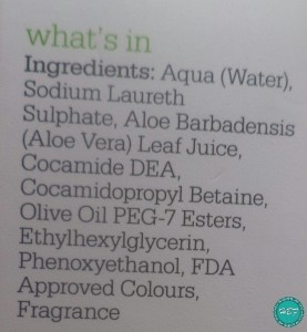 Plum-Hello-Aloe-Face-Wash-ingredients