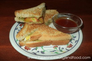 Vegetable Sandwich 3
