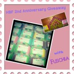 HBF 2nd Anniversary Giveaway with Fuschia