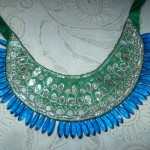 Limeroad Silver Gota Patti Bib Necklace Review