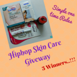 Hiphop Skin Care New launches + Giveaway (Closed)