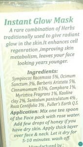 Vedantika-herbals-instant-glow-pack-ingredients