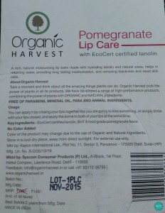 Organic-Harvest-Pomegranate-Lip-Care-details