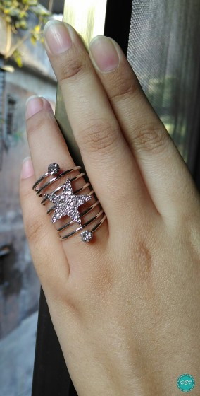 Born-Pretty-Store-Chic-Elastic-Star-Ring-#14557