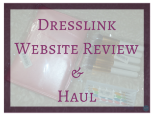Dresslink Website Review & Haul